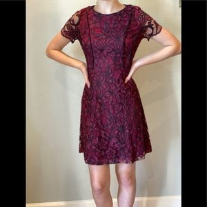 KENSIE 2 Lace Cocktail Party Dress